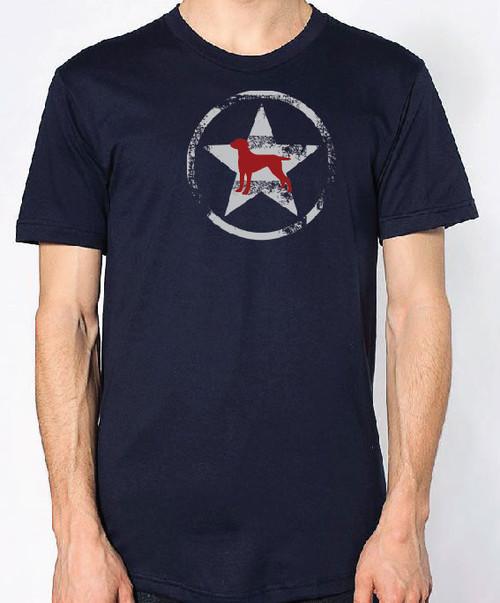 Righteous Hound - Unisex AllStar Weimaraner T-Shirt