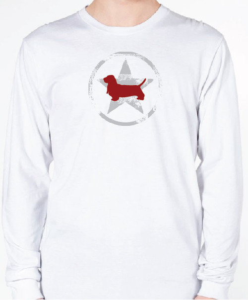 Unisex AllStar Basset Hound Long Sleeve T-Shirt