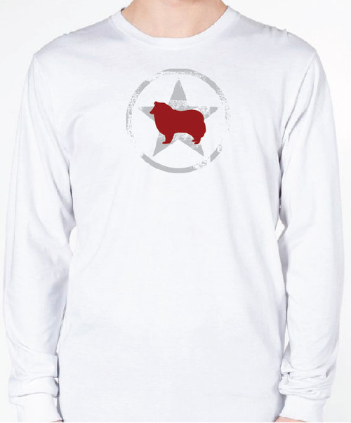 Unisex AllStar Collie Long Sleeve T-Shirt