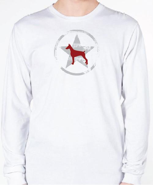 Unisex AllStar Doberman Long Sleeve T-Shirt