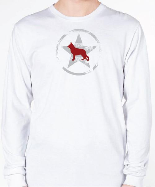 Unisex AllStar German Shepherd Long Sleeve T-Shirt