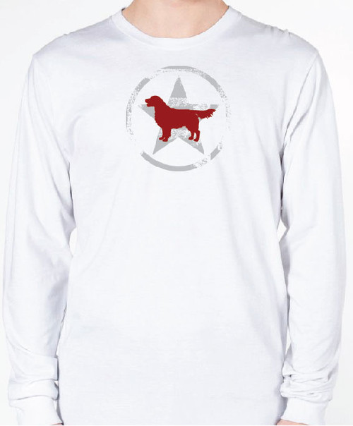 Unisex AllStar Golden Retriever Long Sleeve T-Shirt