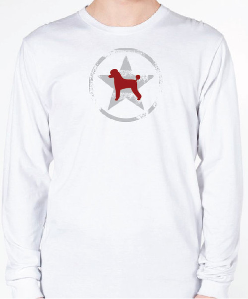 Unisex AllStar Poodle Long Sleeve T-Shirt