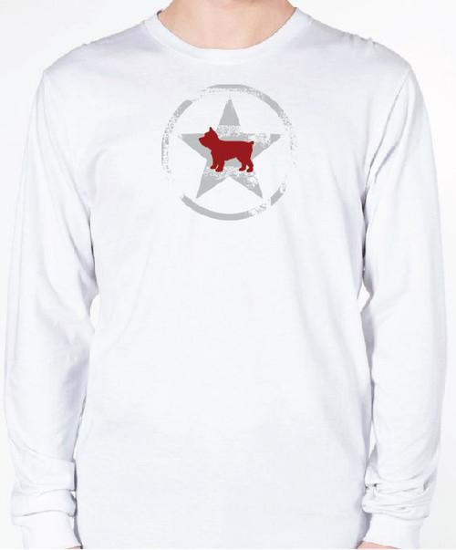 Unisex AllStar Yorkie Long Sleeve T-Shirt