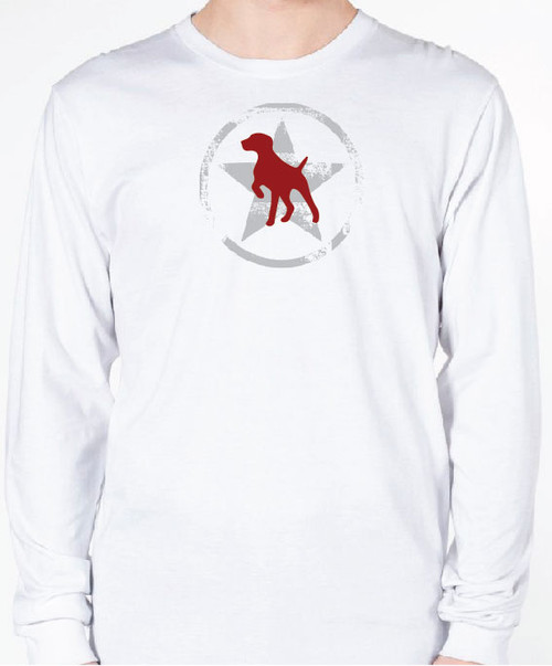 Unisex AllStar German Shorthaired Pointer Long Sleeve T-Shirt