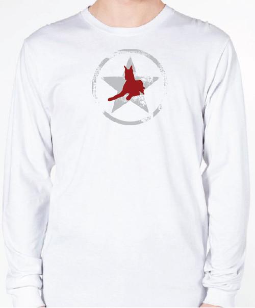 Unisex AllStar Great Dane Long Sleeve T-Shirt