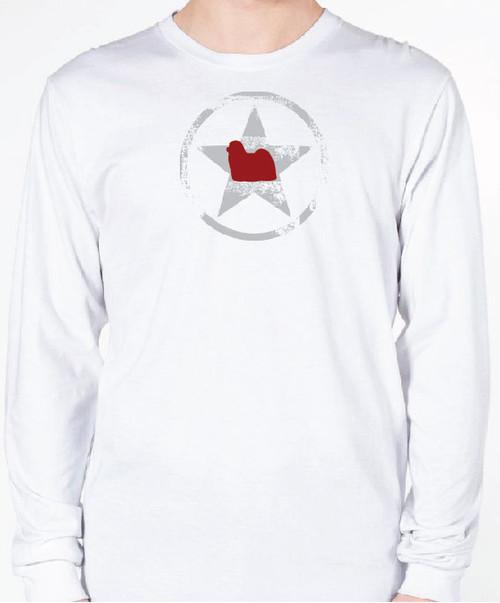 Unisex AllStar Maltese Long Sleeve T-Shirt