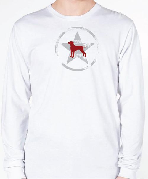 Unisex AllStar Weimaraner Long Sleeve T-Shirt