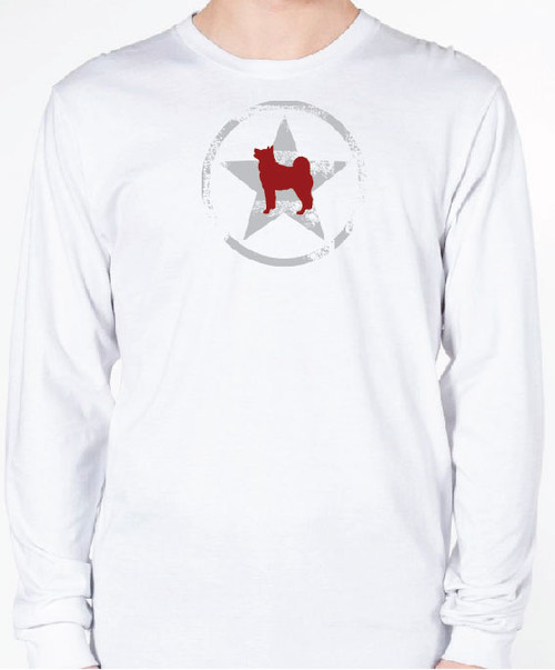Unisex AllStar Akita Long Sleeve T-Shirt