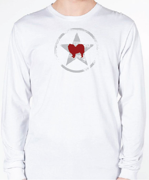 Unisex AllStar Samoyed Long Sleeve T-Shirt