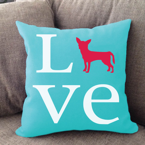 Chihuahua Love Pillow