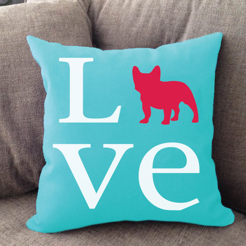 French Bulldog Love Pillow