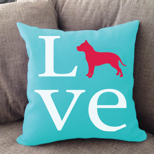 Pitbull Love Pillow