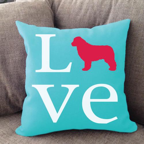 Newfoundland Love Pillow
