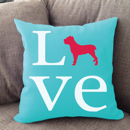 Cane Corso Love Pillow
