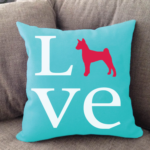 Basenji Love Pillow