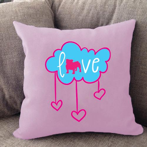 Bulldog Cloud Pillow