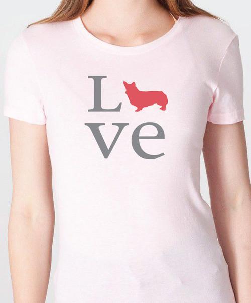 Unisex Love Corgi T-Shirt