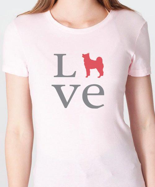 Unisex Love Akita T-Shirt