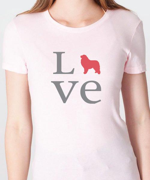 Unisex Love Great Pyrenees T-Shirt