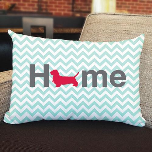 Righteous Hound - Home Basset Hound Pillow