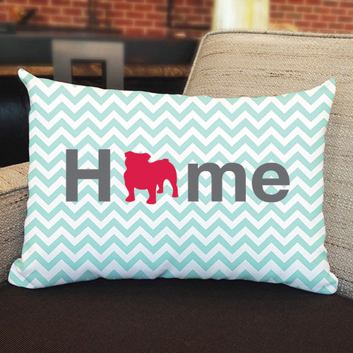 Righteous Hound - Home Bulldog Pillow