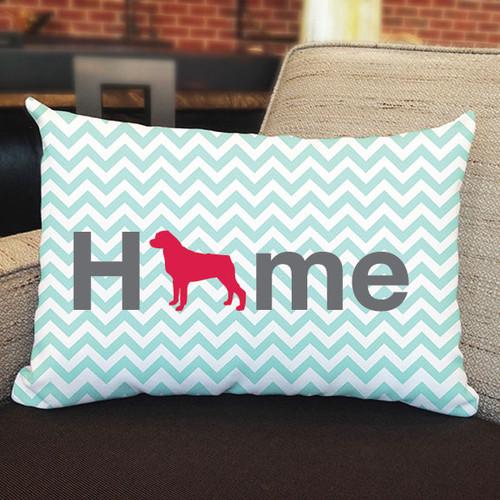 Righteous Hound - Home Rottweiler Pillow