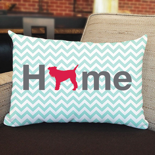 Righteous Hound - Home Schnauzer Pillow