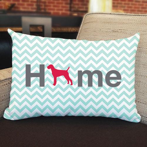 Righteous Hound - Home Vizsla Pillow