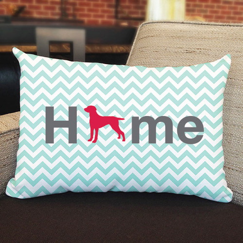 Righteous Hound - Home Weimaraner Pillow