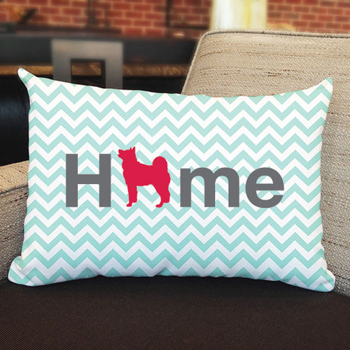 Righteous Hound - Home Akita Pillow
