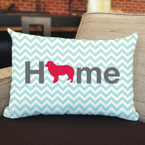 Righteous Hound - Home Border Collie Pillow