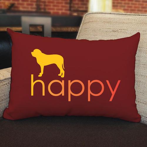 Righteous Hound - Happy Mastiff Pillow