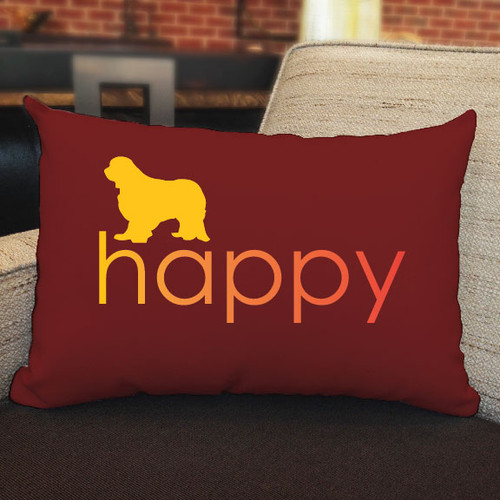 Righteous Hound - Happy Cavalier King Charles Spaniel Pillow