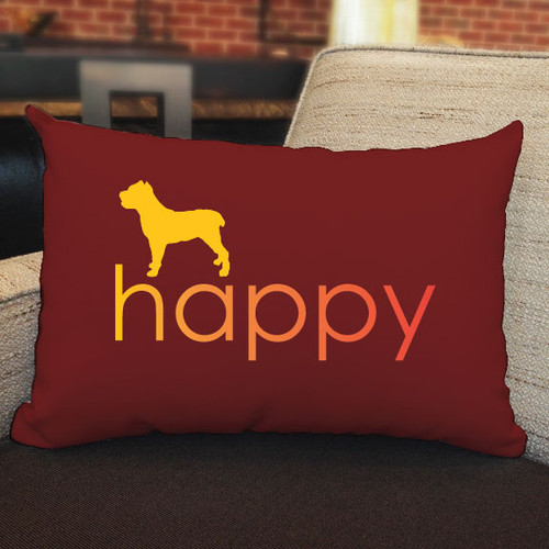 Righteous Hound - Happy Cane Corso Pillow