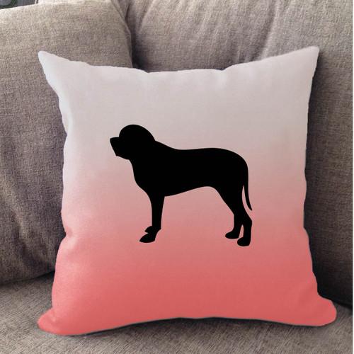 Righteous Hound - White Ombre Mastiff Pillow
