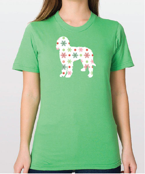 Unisex Holiday Goldendoodle T-Shirt