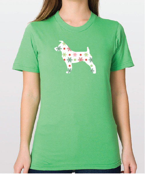Unisex Holiday Jack Russell T-Shirt