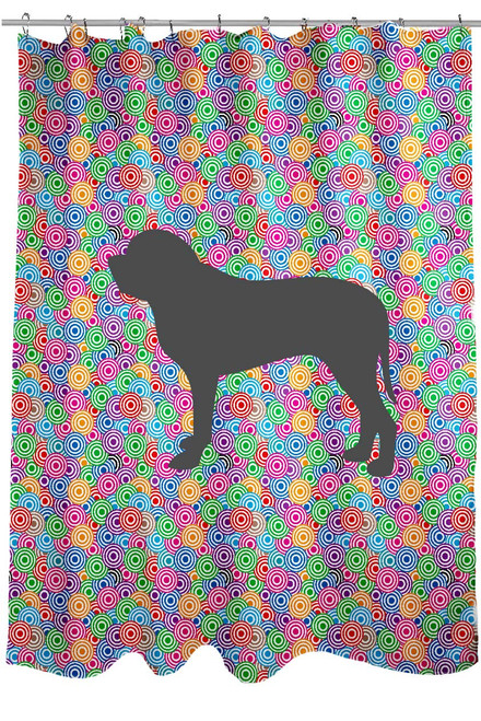 Righteous Hound - Circle Mastiff Shower Curtain