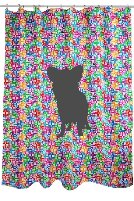 Righteous Hound - Circle Papillon Shower Curtain