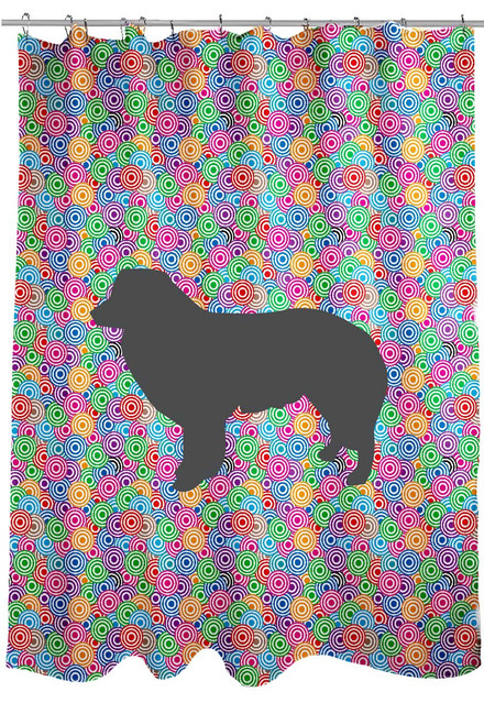 Righteous Hound - Circle Bernese Mountain Dog Shower Curtain