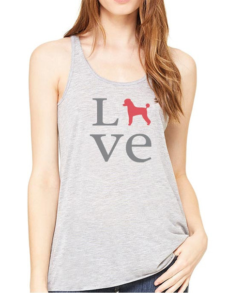 Righteous Hound - Flowy Love Poodle Tank