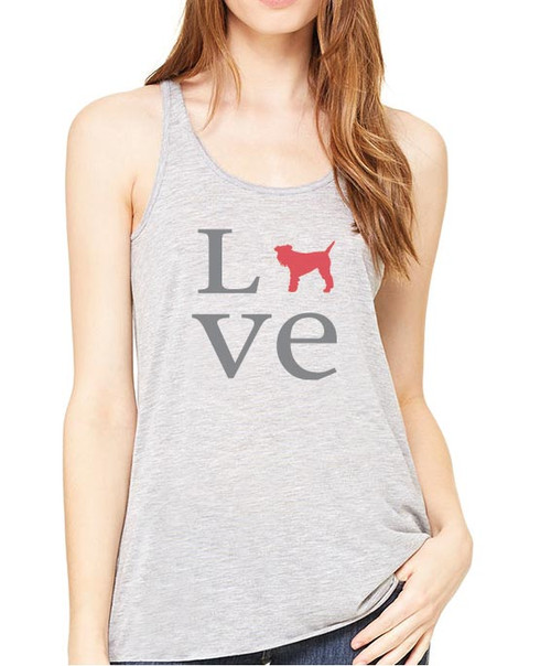 Righteous Hound - Flowy Love Schnauzer Tank