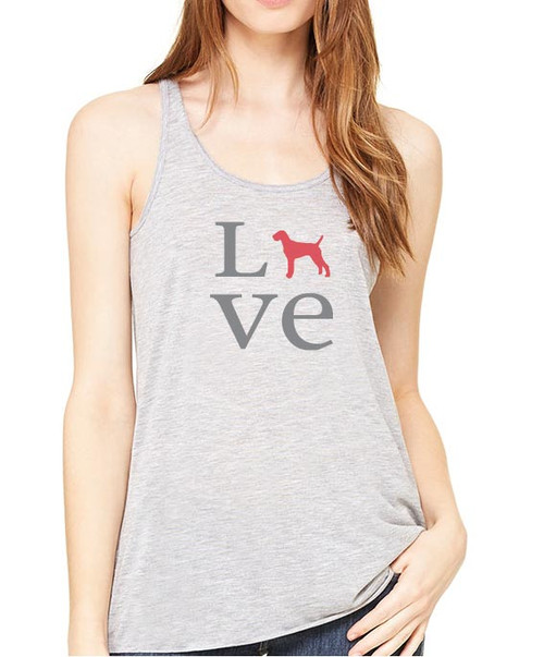 Righteous Hound - Flowy Love Vizsla Tank