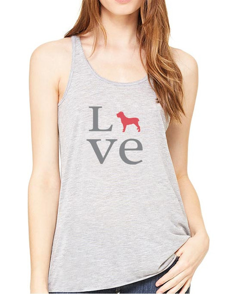 Righteous Hound - Flowy Love Cane Corso Tank
