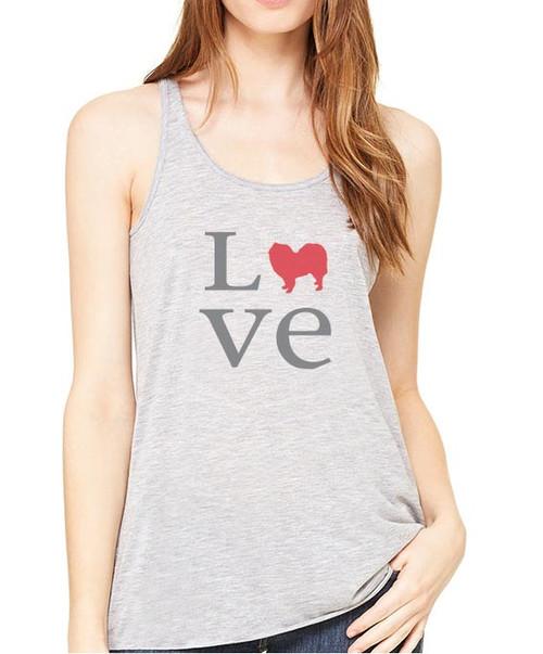 Samoyed Love Flowy Tank