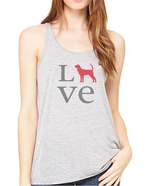 Righteous Hound - Flowy Love Coonhound Tank