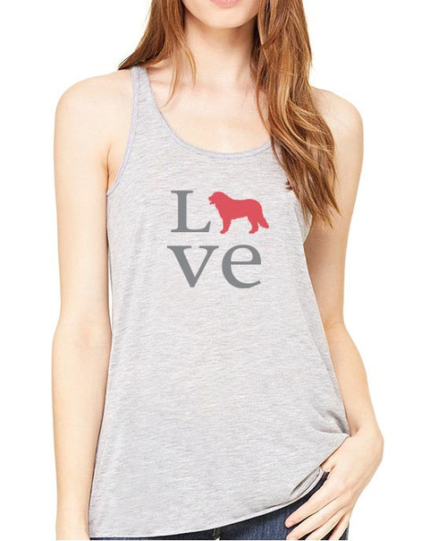 Righteous Hound - Flowy Love Bernese Mountain Dog Tank