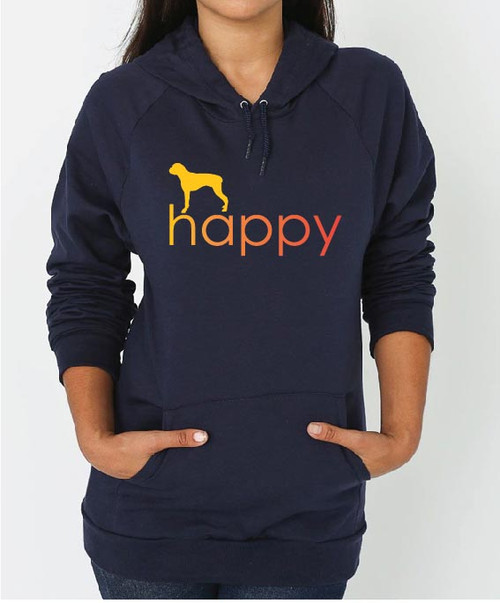 Righteous Hound - Unisex Happy Boxer Hoodie