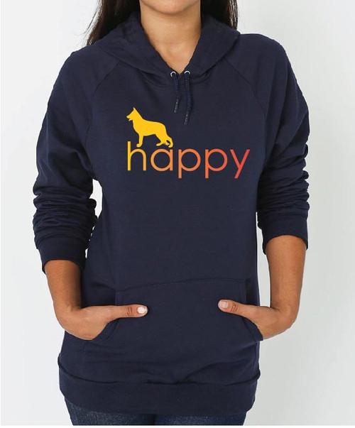 Righteous Hound - Unisex Happy German Shepherd Hoodie
